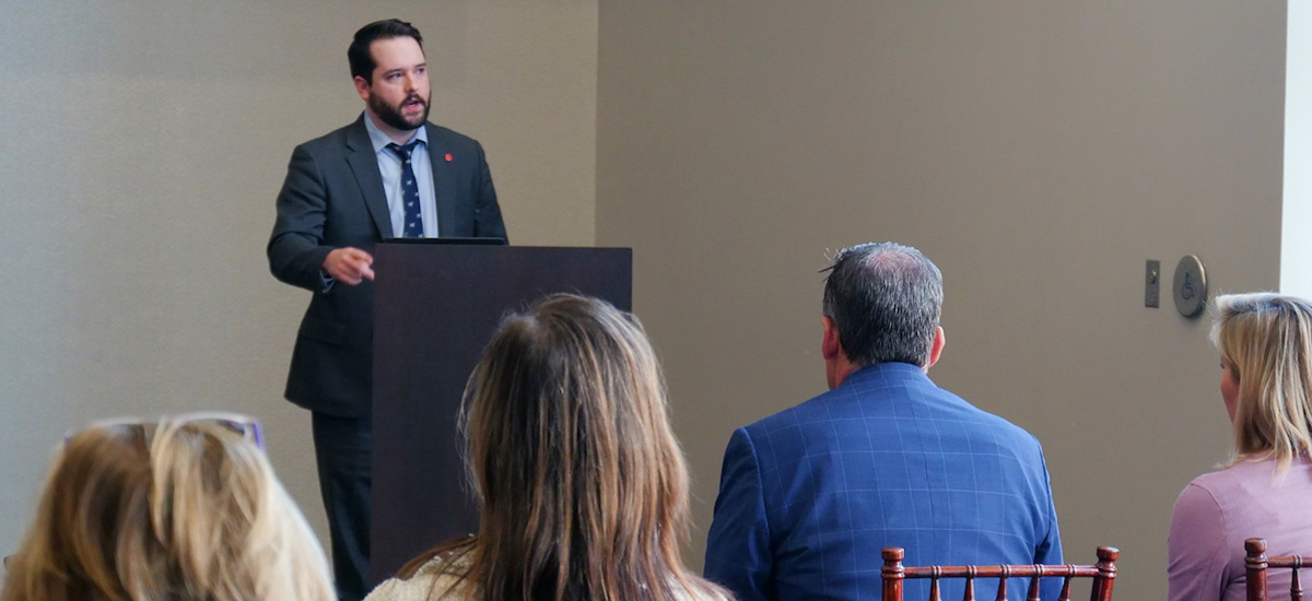 As part of the spring 2021 Family Leadership Council meeting, Alex Langhart, director of University Health Services, shares all the work his team is doing to ensure the health and wellness of Ole Miss students.
